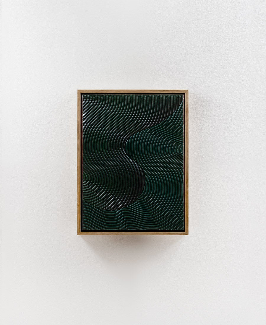 Image of Relief Duo · Green No. 2 (sold)