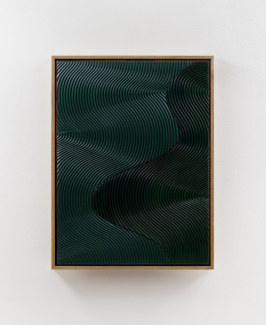 Image of Relief Duo · Green No. 1 (sold)