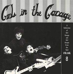 Image of LP. V.A. : Girls In The Garage Vol 8.   Ltd Edition Pink Vinyl.