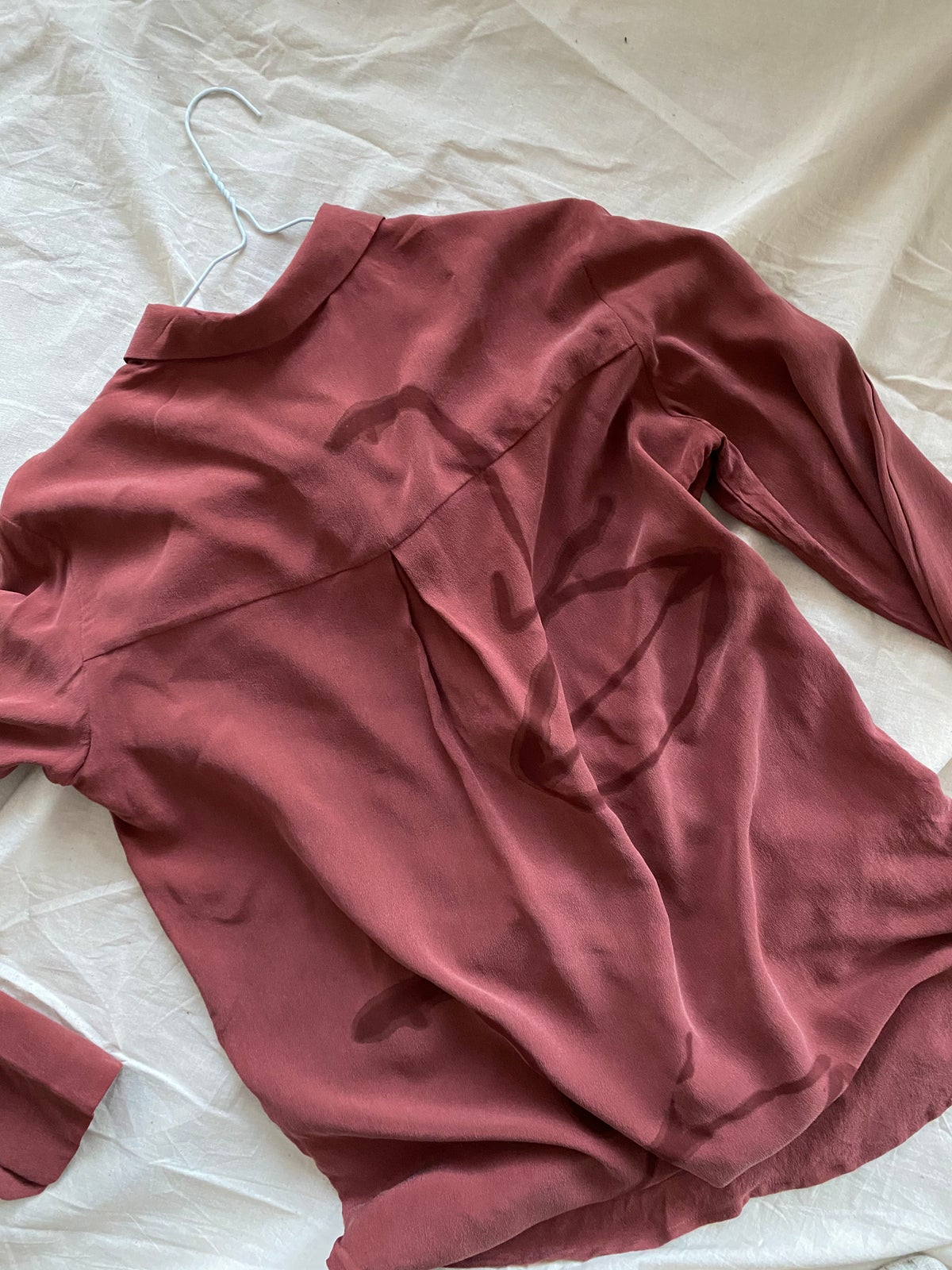 Image of red red wine blouse