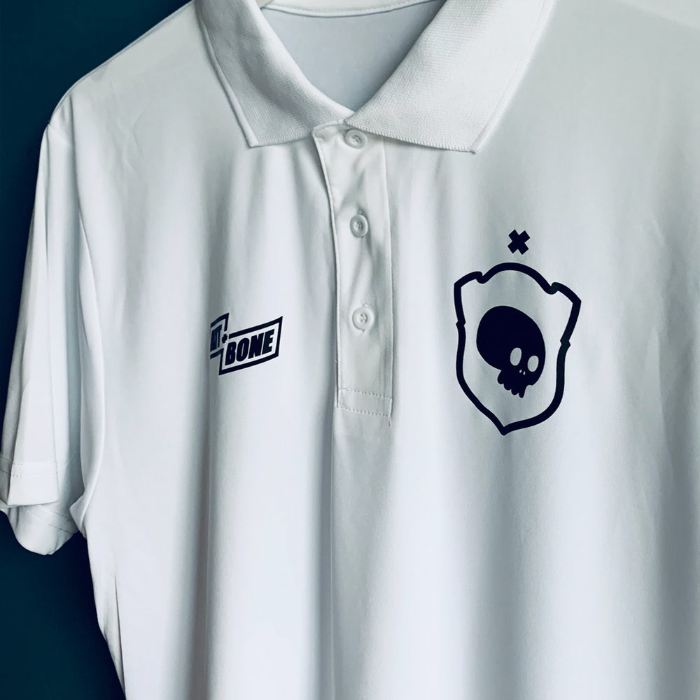 Image of White Polo - Sample