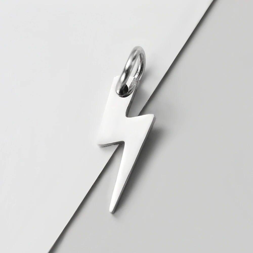 Mini Lightning Bolt Pendants (Set of 3)