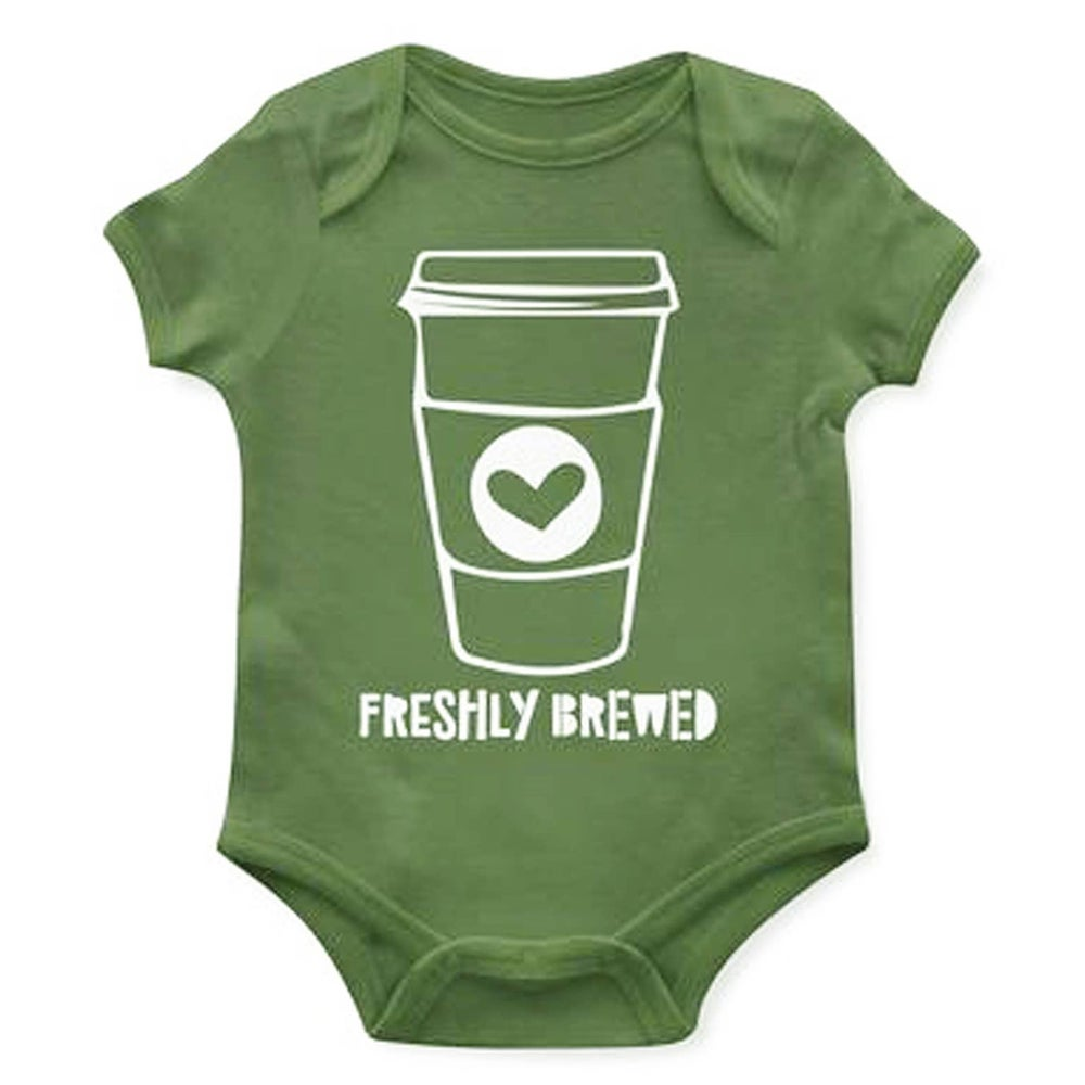 Image of Freshly Brewed Onesie