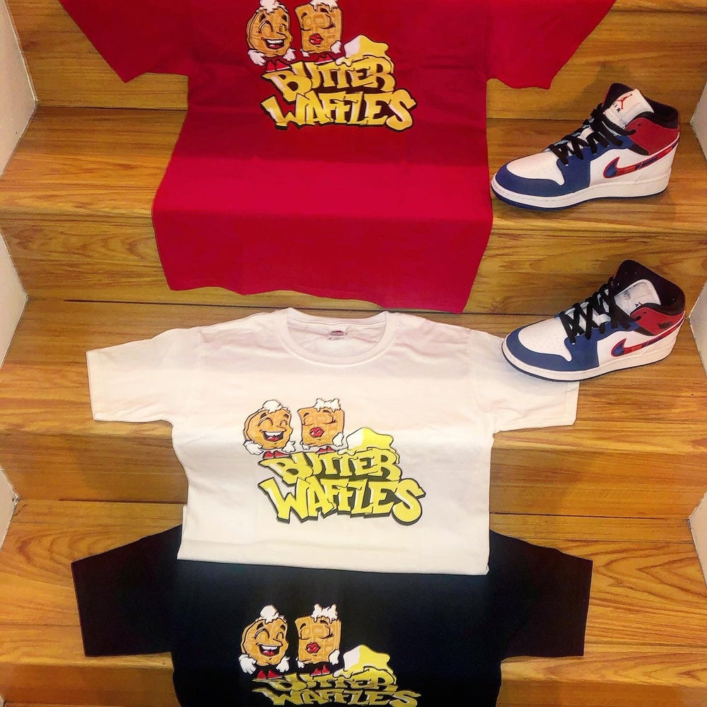 Image of Butter Waffles Youth Tee