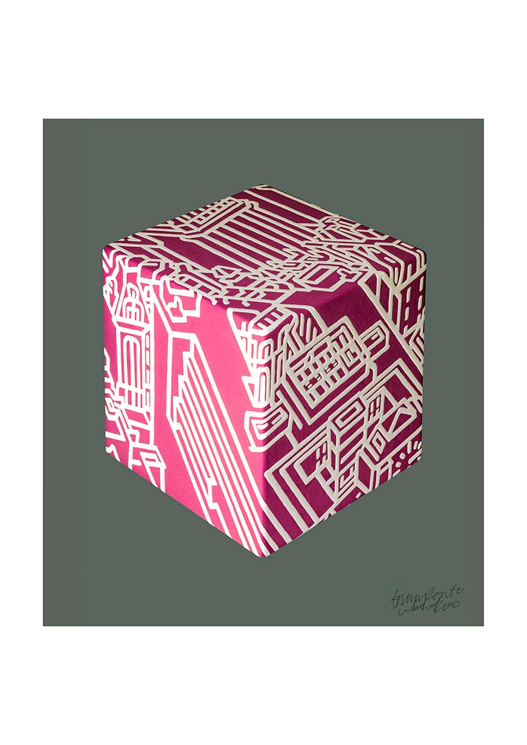 Image of Cube Pink.