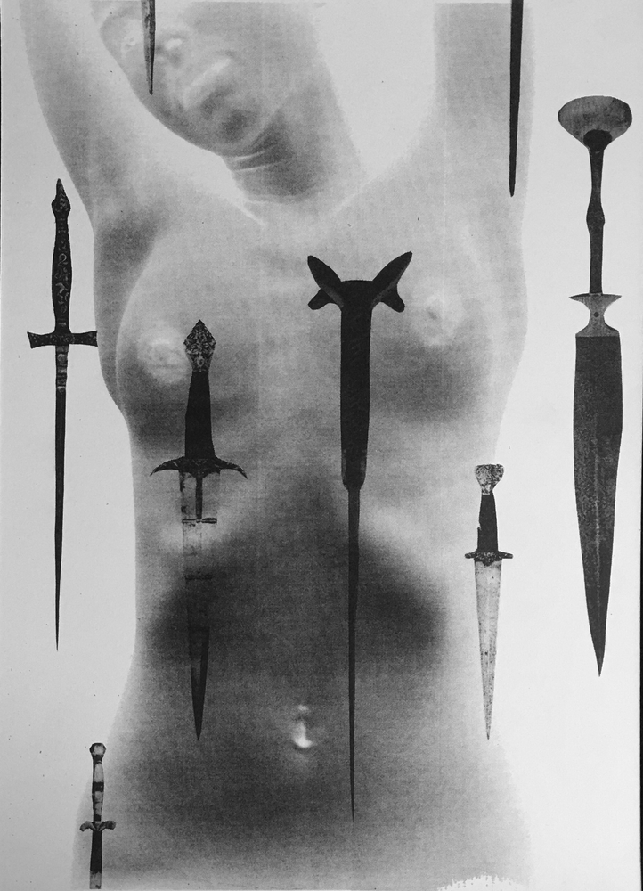 Image of BODY OF BLADES - A3 RISOGRAPH PRINT