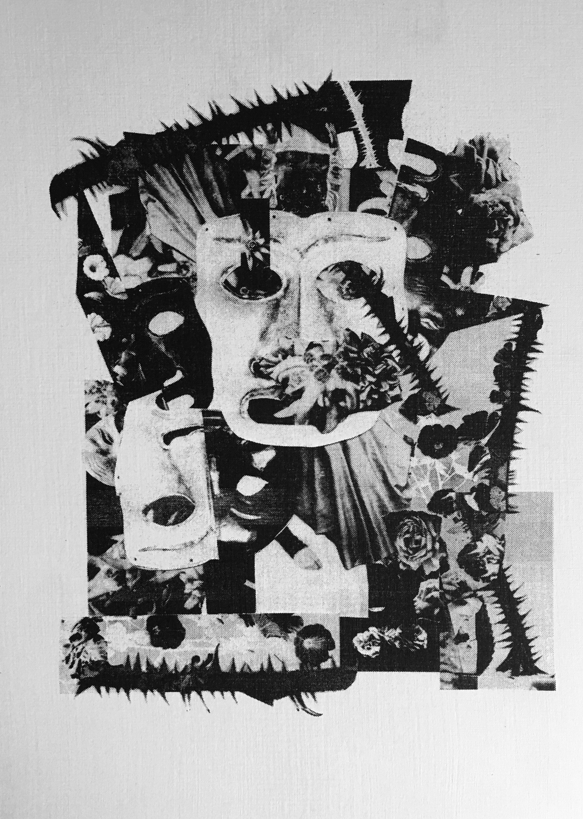 Image of THE FOREST OF ILLUSIONS - A3 RISOGRAPH PRINT