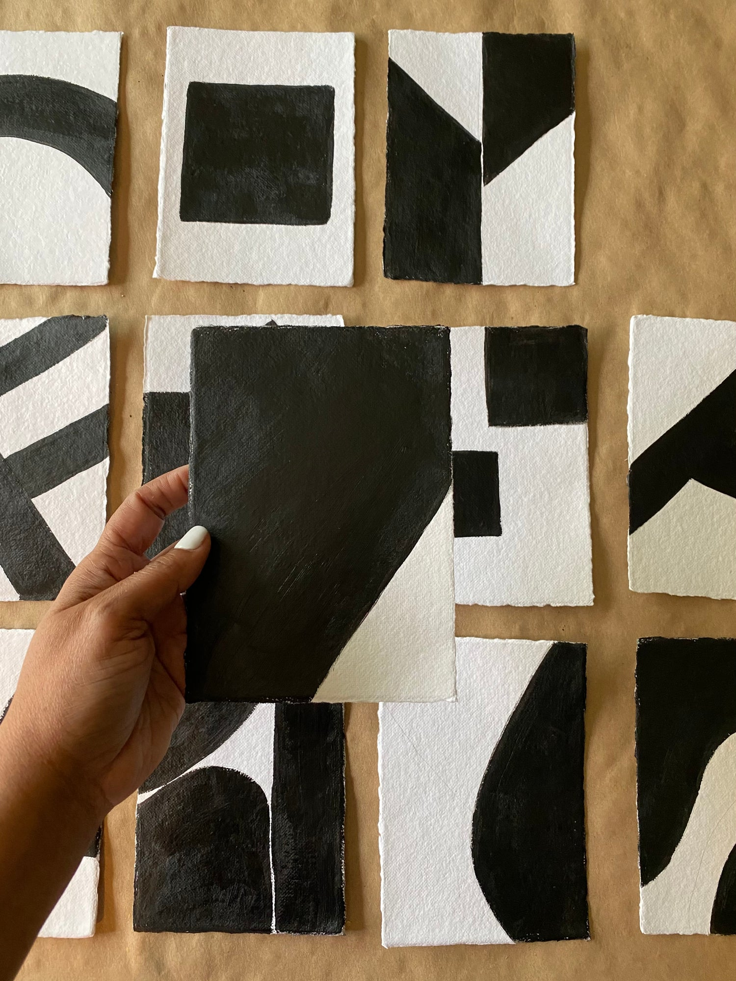 Image of ML • The Shape Collection • Handmade Paper No. 4