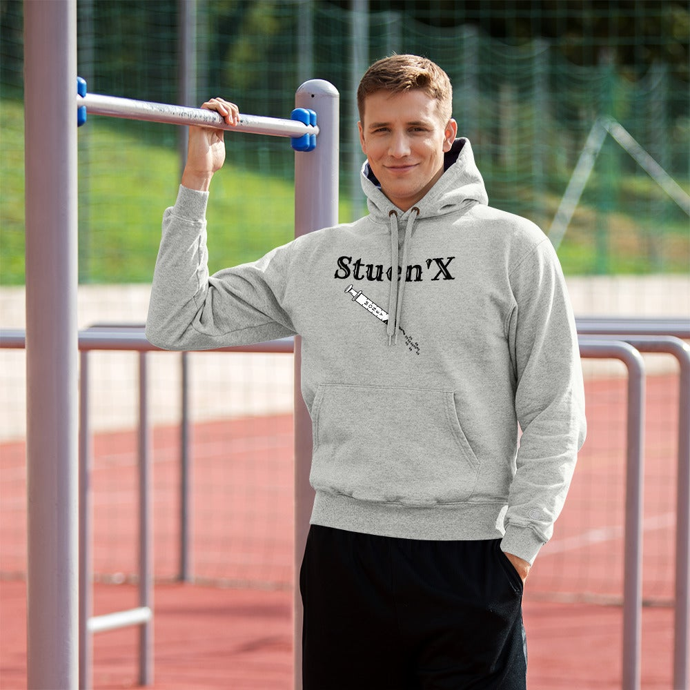 Image of Stuen'X Money Syringe Champion Hoodie