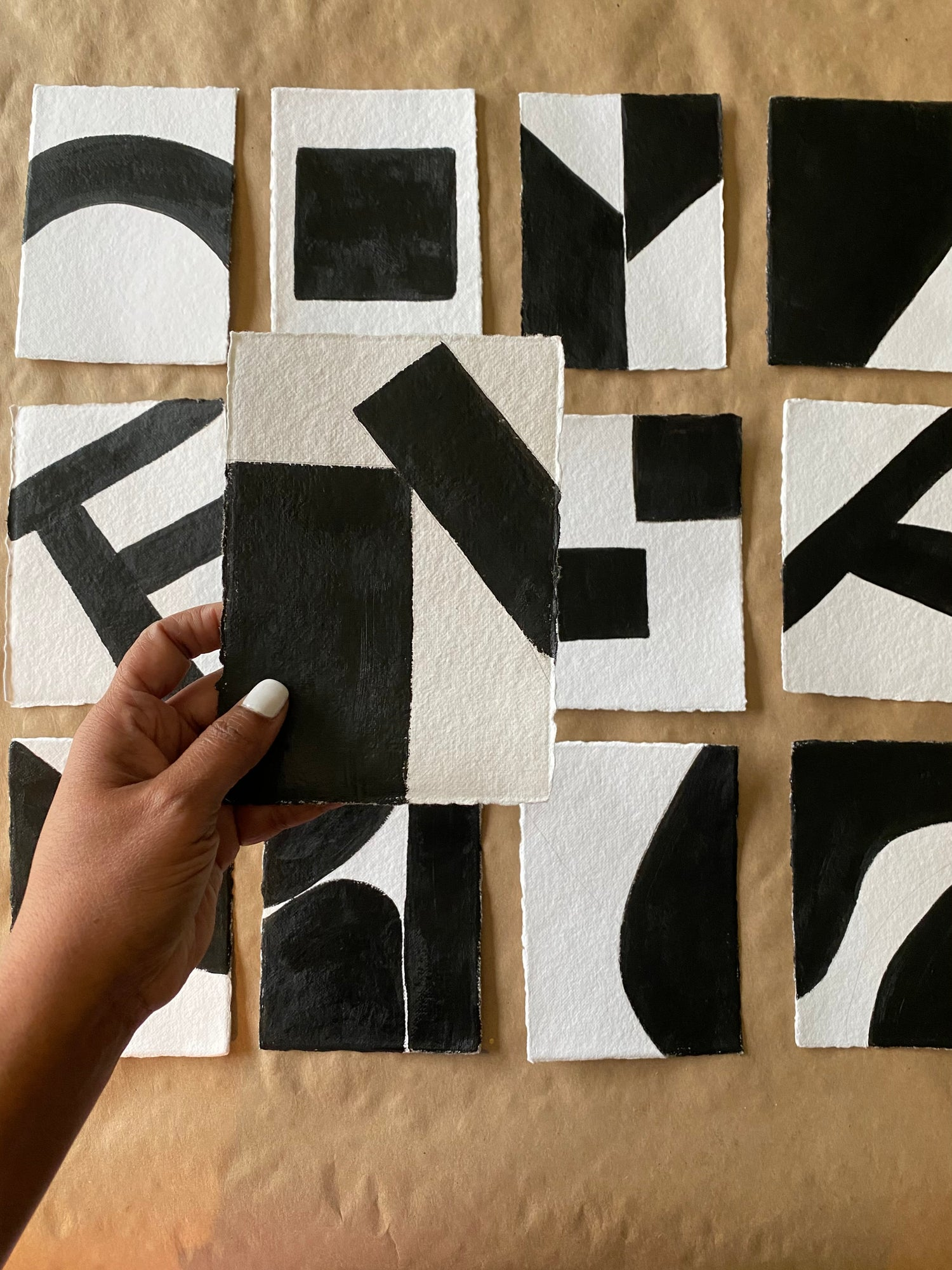 Image of ML • The Shape Collection • Handmade Paper No. 5