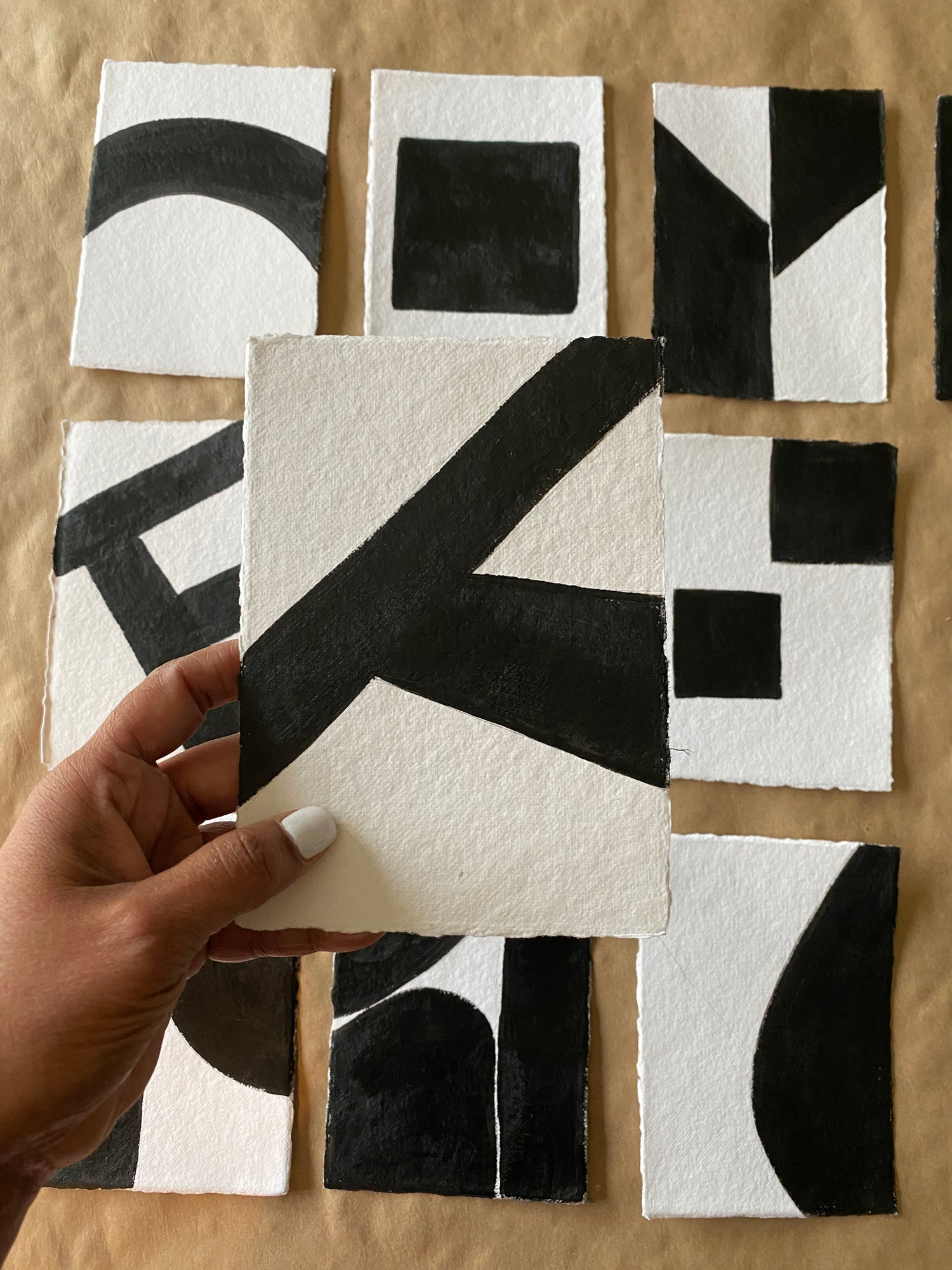 Image of ML • The Shape Collection • Handmade Paper No. 6