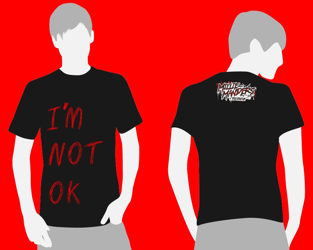 Not Ok Charity T Shirt