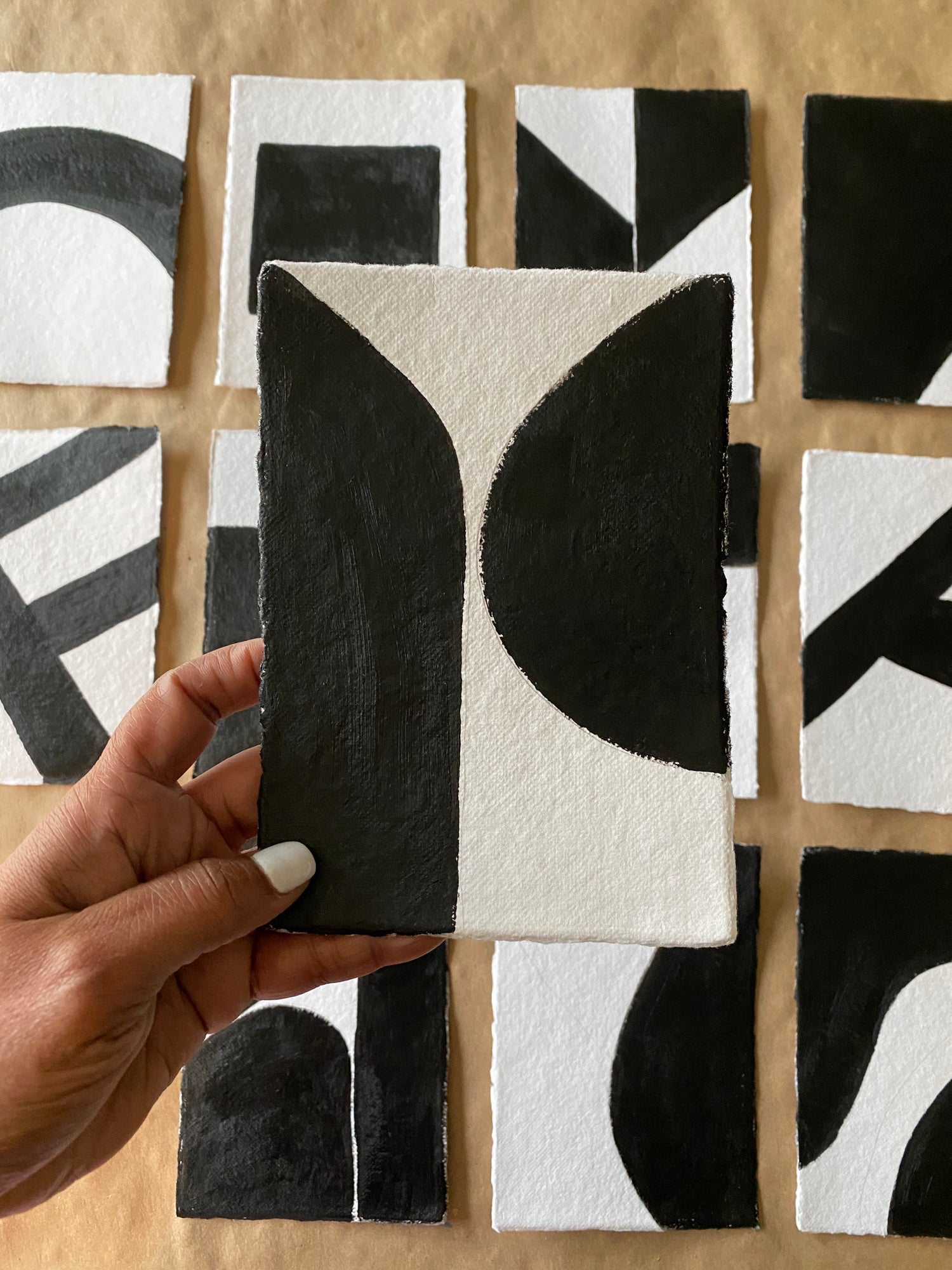 Image of ML • The Shape Collection • Handmade Paper No. 8