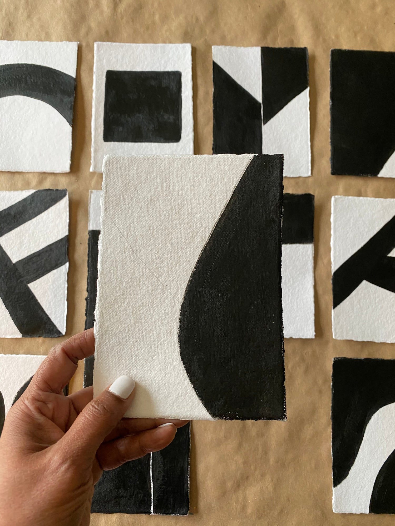 Image of ML • The Shape Collection • Handmade Paper No. 9