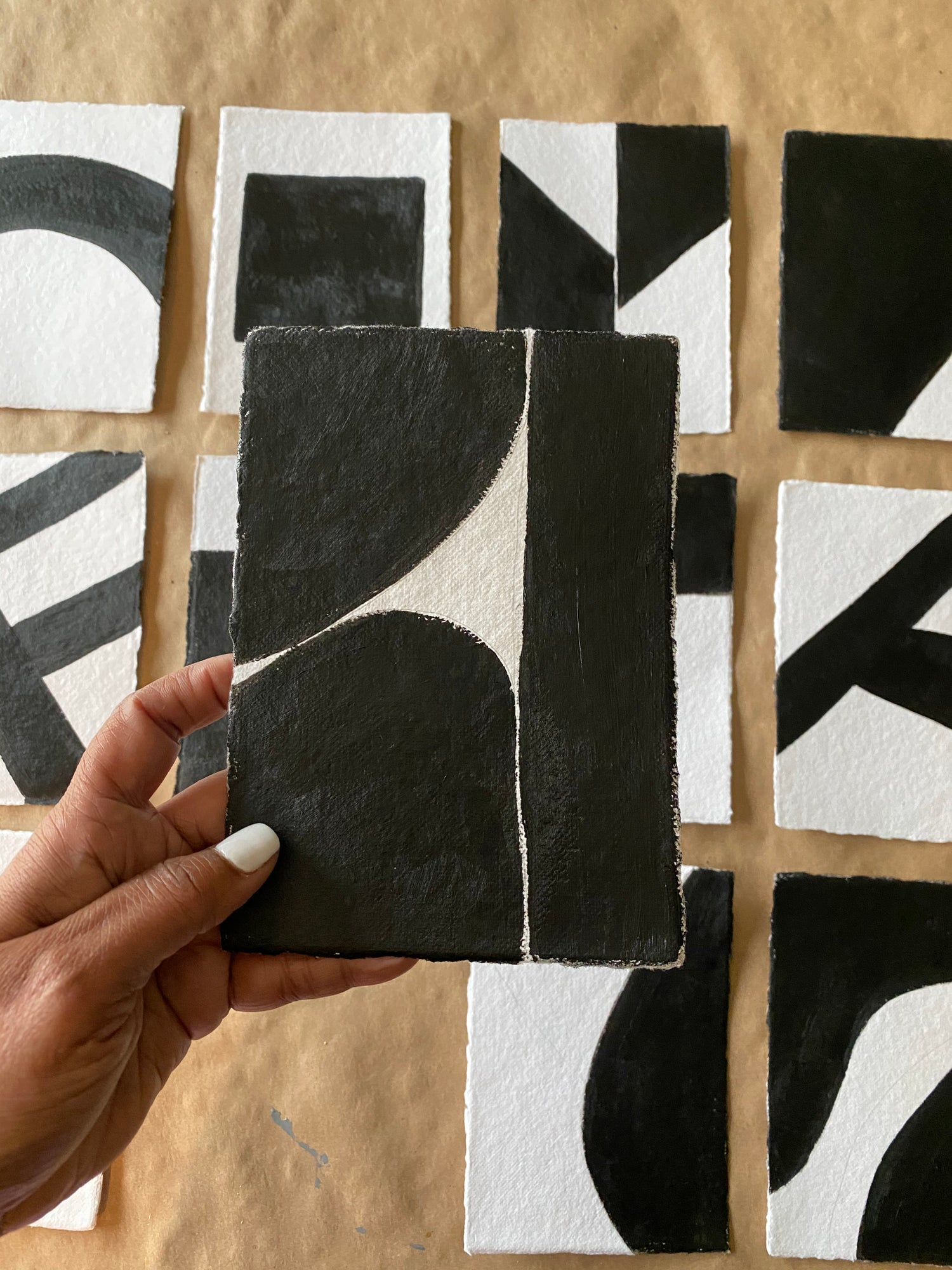 Image of ML • The Shape Collection • Handmade Paper No. 10