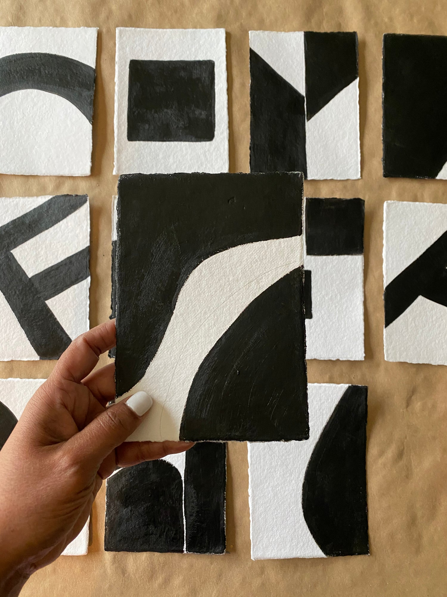 Image of ML • The Shape Collection • Handmade Paper No. 11