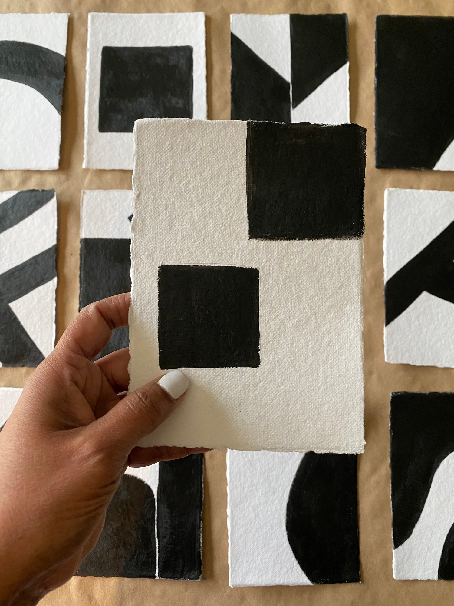 Image of ML • The Shape Collection • Handmade Paper No. 12