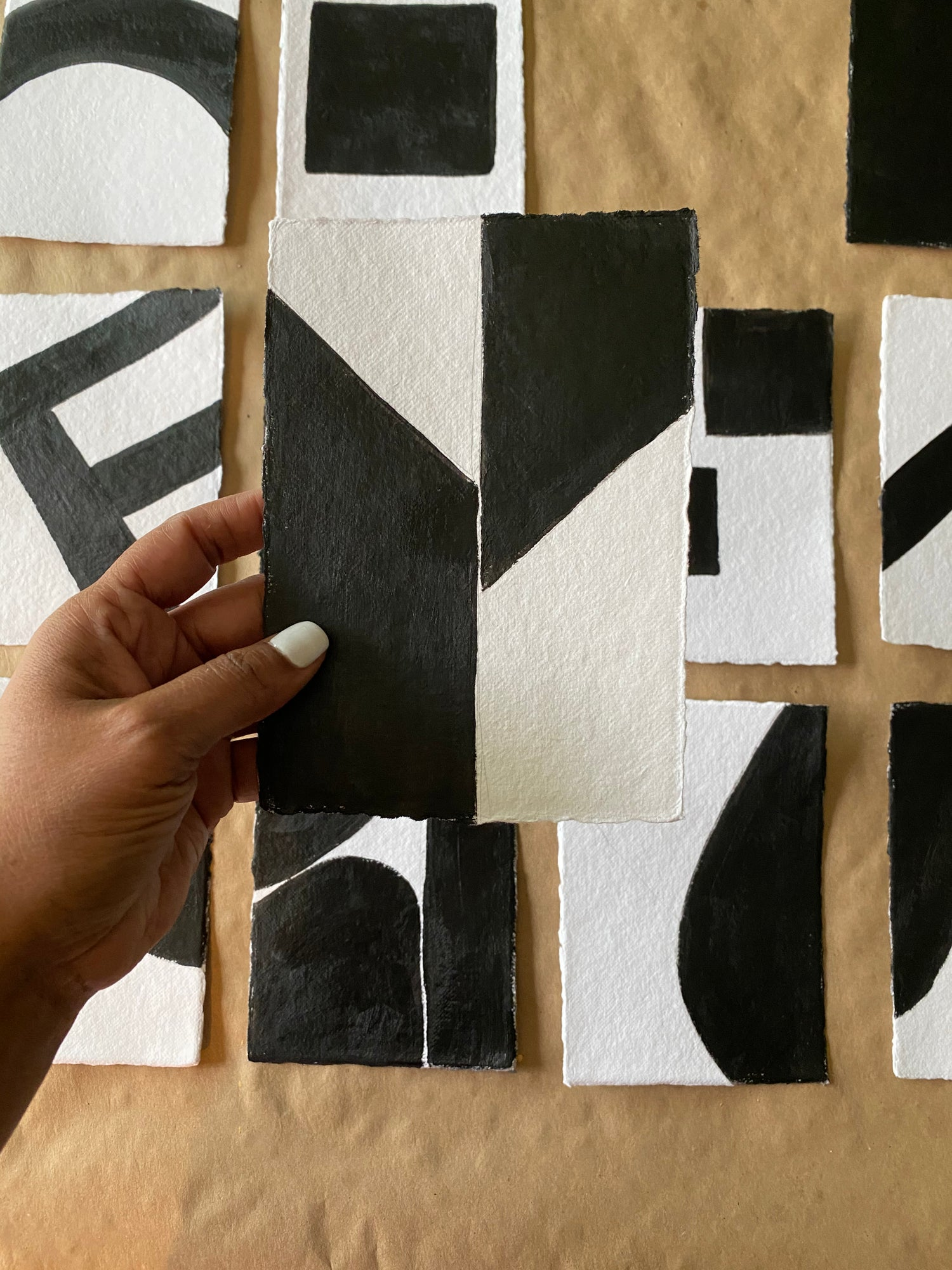 Image of ML • The Shape Collection • Handmade Paper No. 13