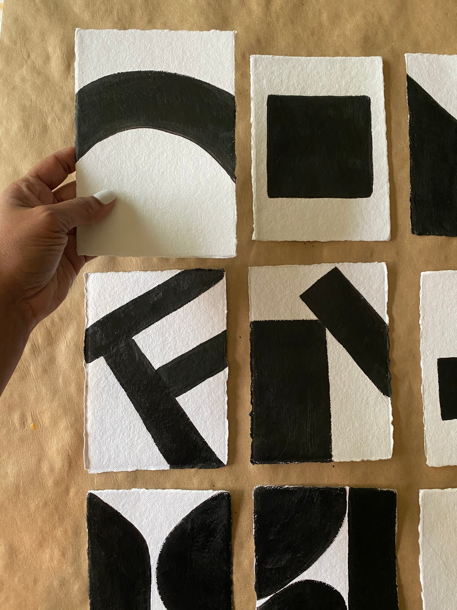 Image of ML • The Shape  Collection  • Handmade Paper No. 15