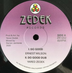 "Image of Ernest Wilson/Harold Wolters 'Do Good/Farwest Step'  - Zede records (12"" vinyl new roots)"