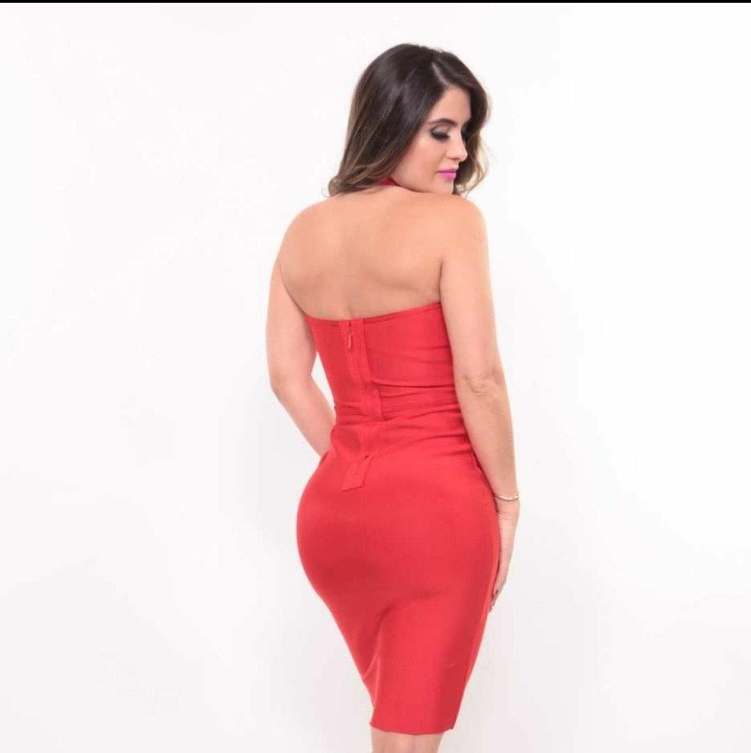 Image of Dress (vestido) Red