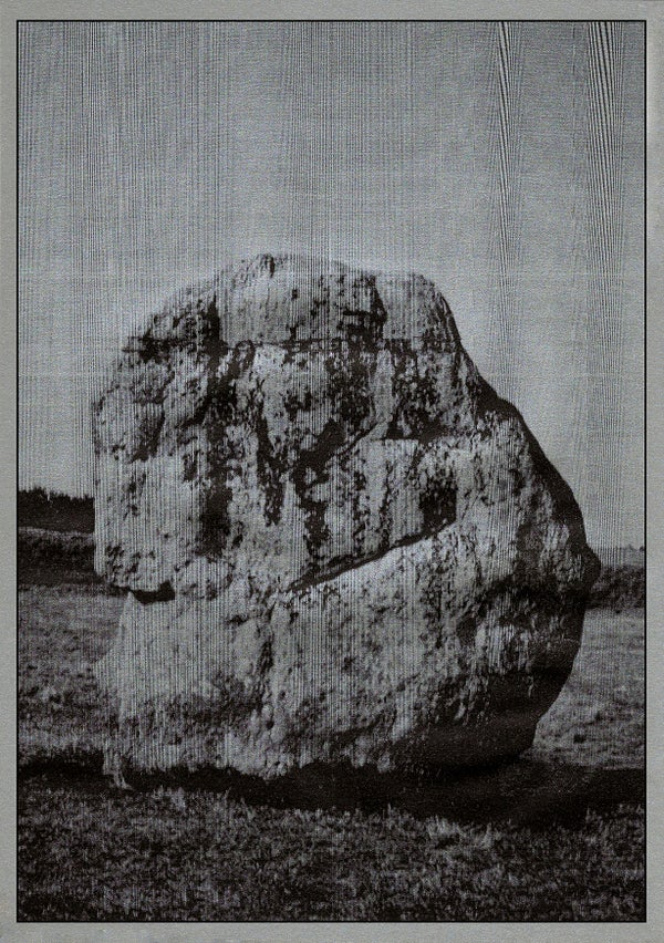 Image of A3 Silver Rock Print
