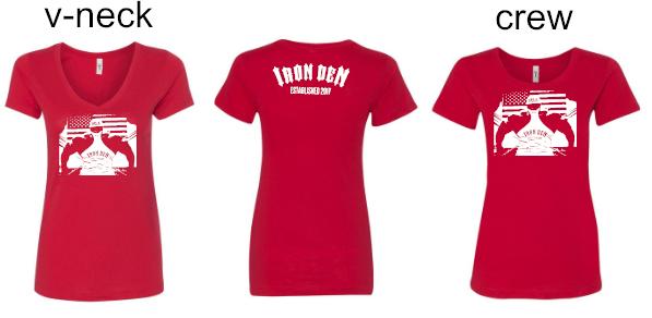 Hulk Flag Shirt Womens