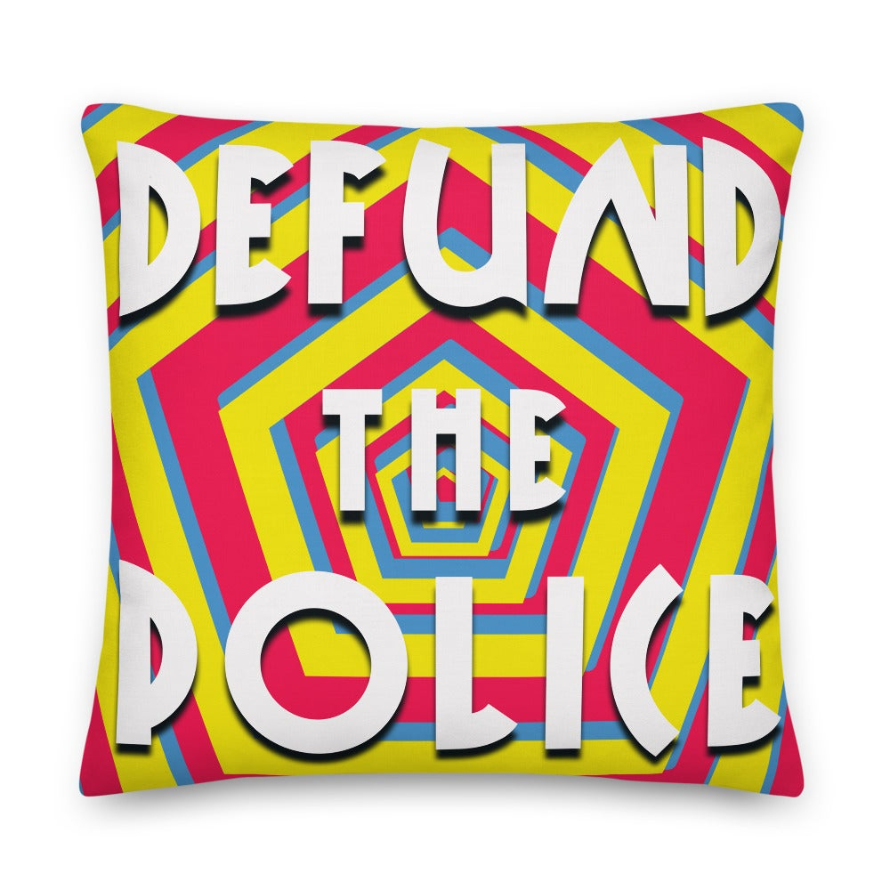 Image of Defund the Police Pillow