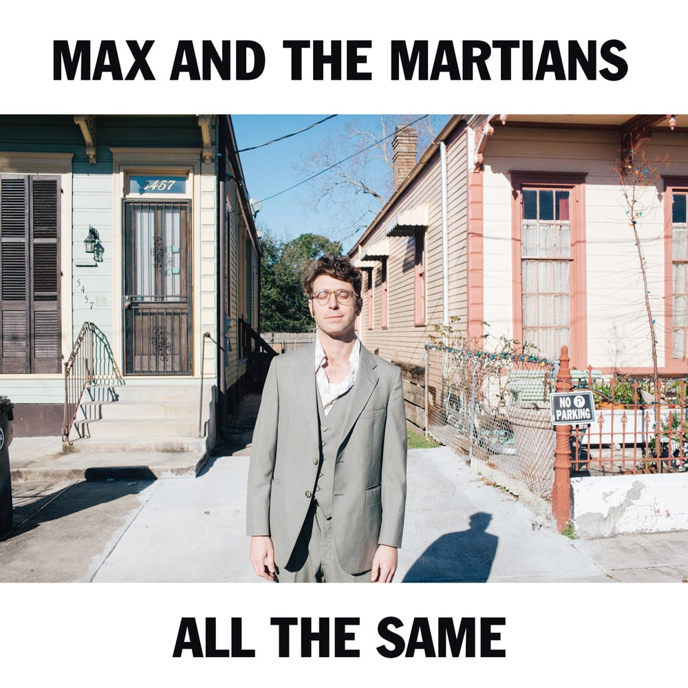 """All The Same"" Cassette by Max and the Martians"