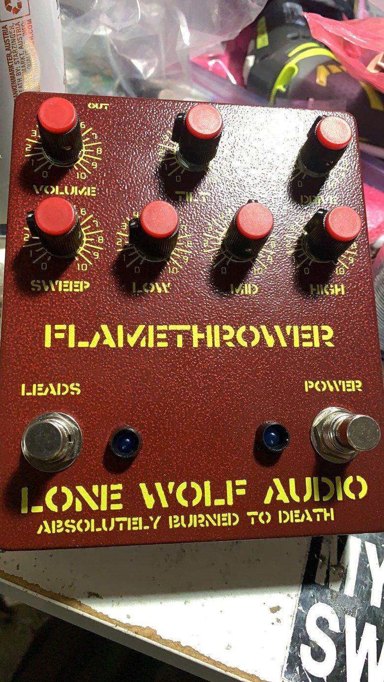 Image of Flamethrower - High gain pre amp distortion presale