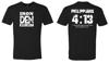 Philippians 4:13 Shirt Mens-Black
