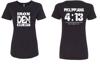 Philippians Shirt Womens- Black