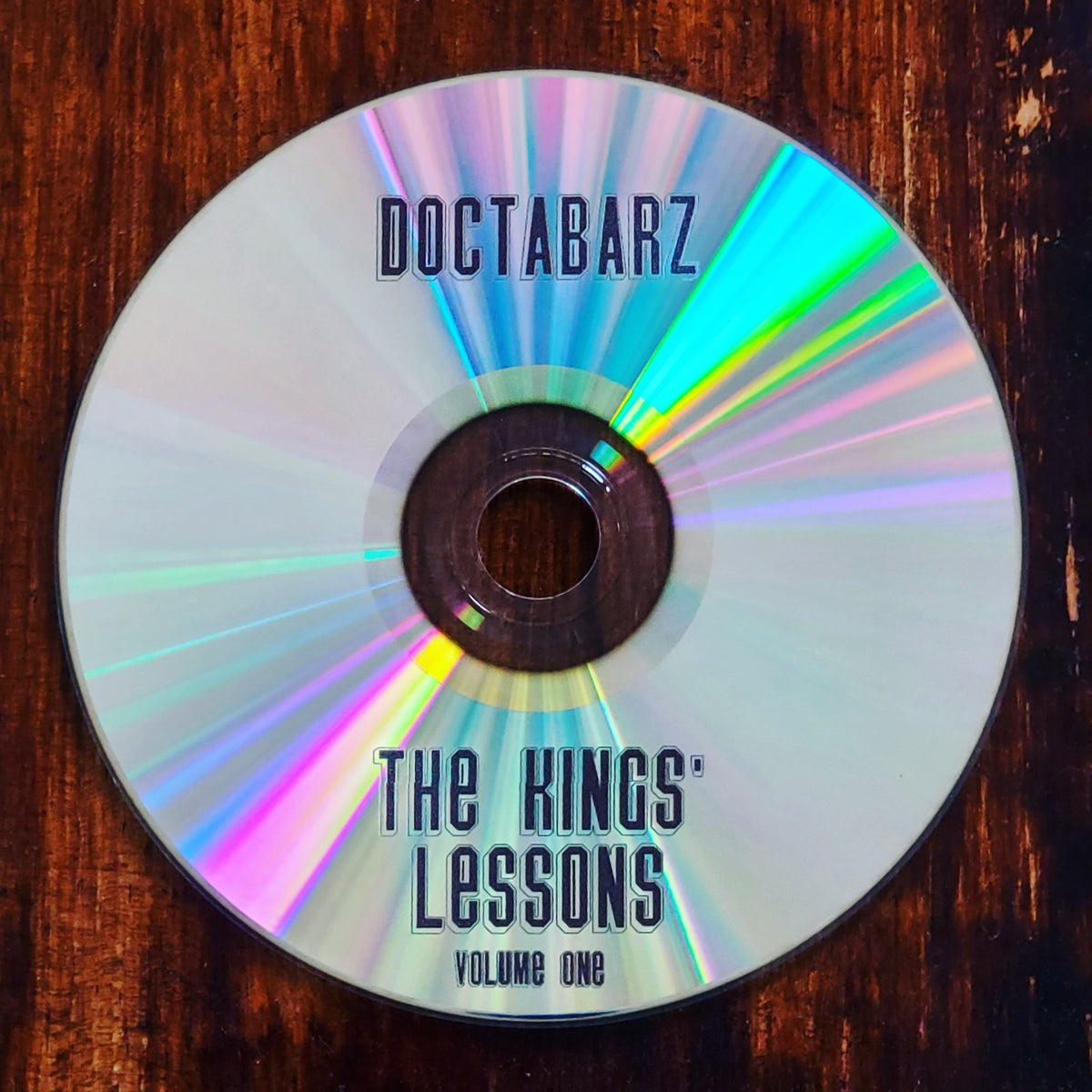 Image of Doctabarz - The Kings' Lessons Volume One CD