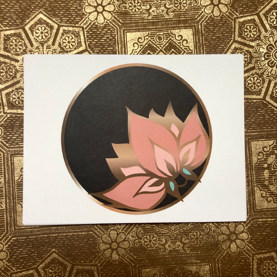 Image of Lotus Logo Blank Postcards