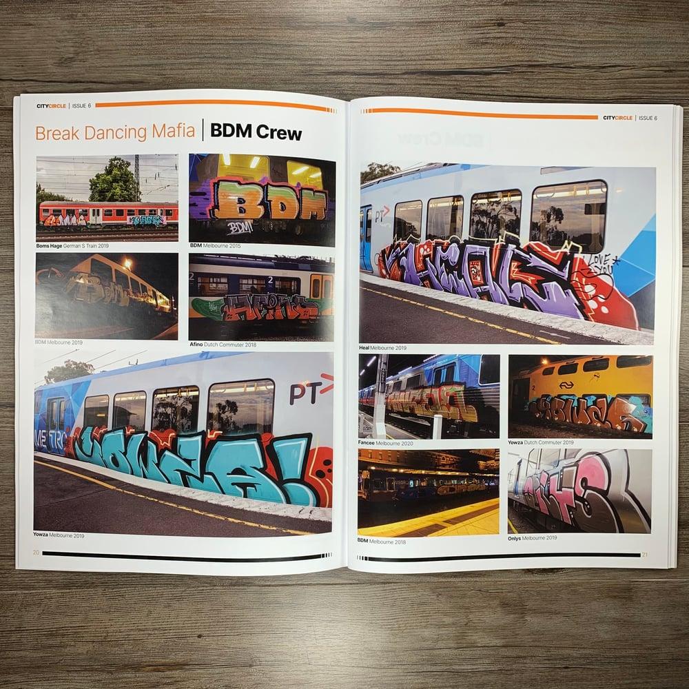 Image of CITY CIRCLE MAGAZINE – ISSUE 6.