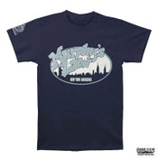 "Image of MURPHY'S LAW ""Skyline New York Hardcore"" Blue T-Shirt"