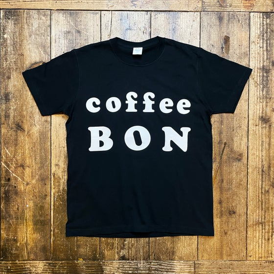 Image of Coffee BON OFFICIAL LOGO SHIRT -BLACK-