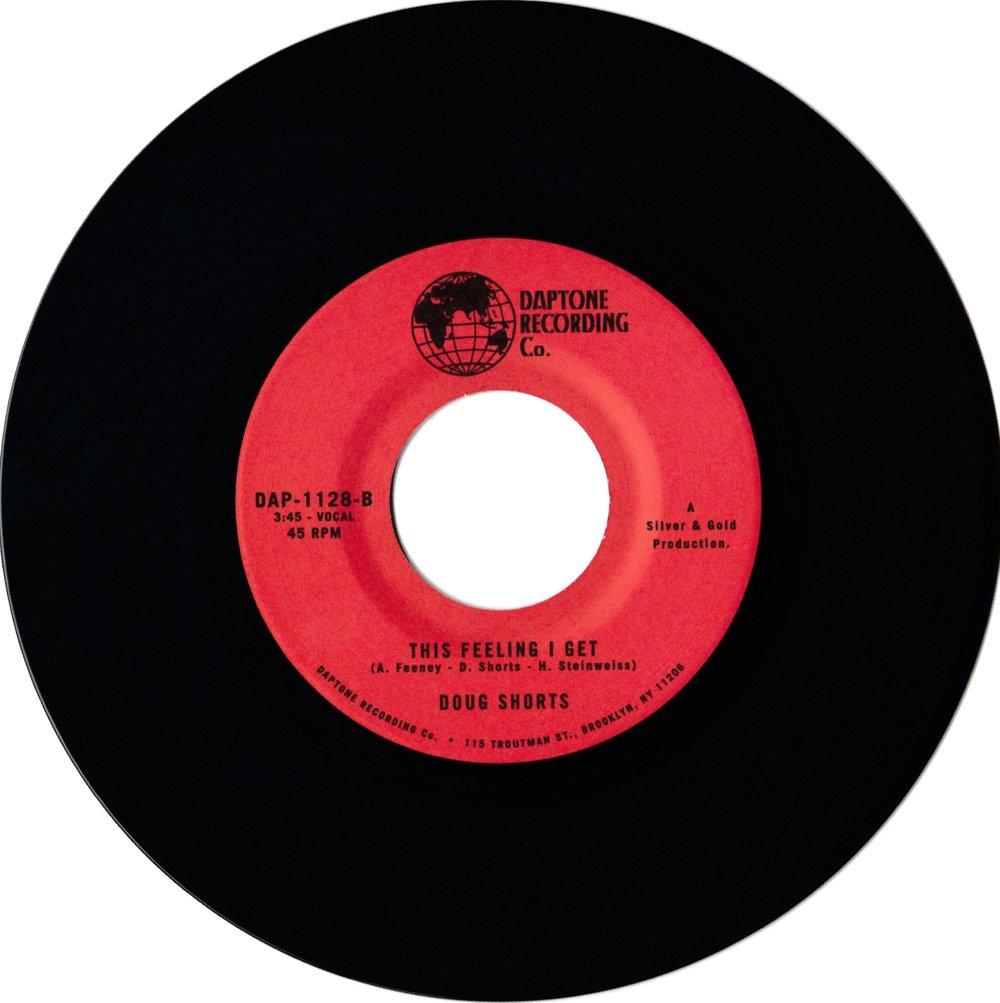 "Doug Shorts - Money b/w This Feeling I Get (7"")"