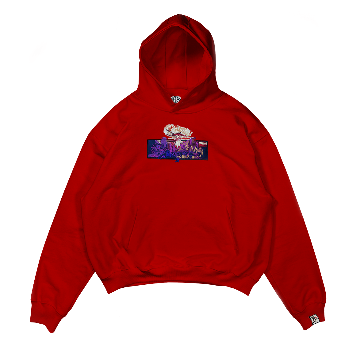 Image of Nuclear Red Hoodie