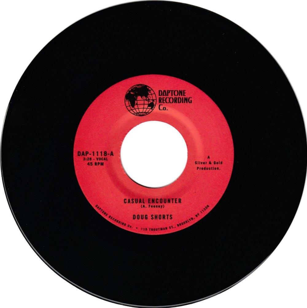 "Doug Shorts - Casual Encounter b/w Keep Your Head Up (7"")"