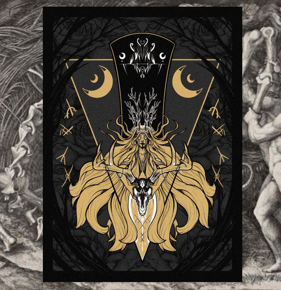 "Image of ""Firehearts"" Original Design Print  [Pre-order]"
