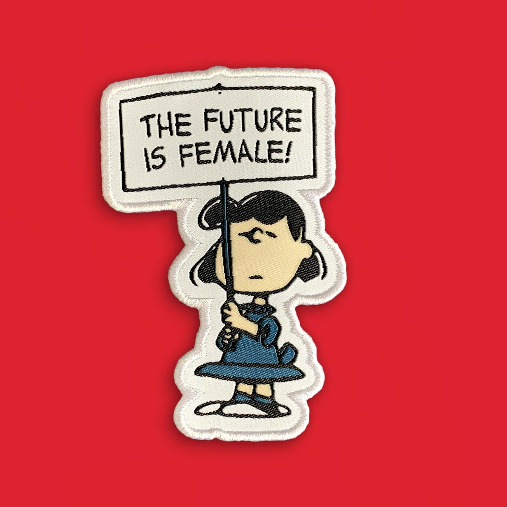 Image of 'The Future is Female' Patch