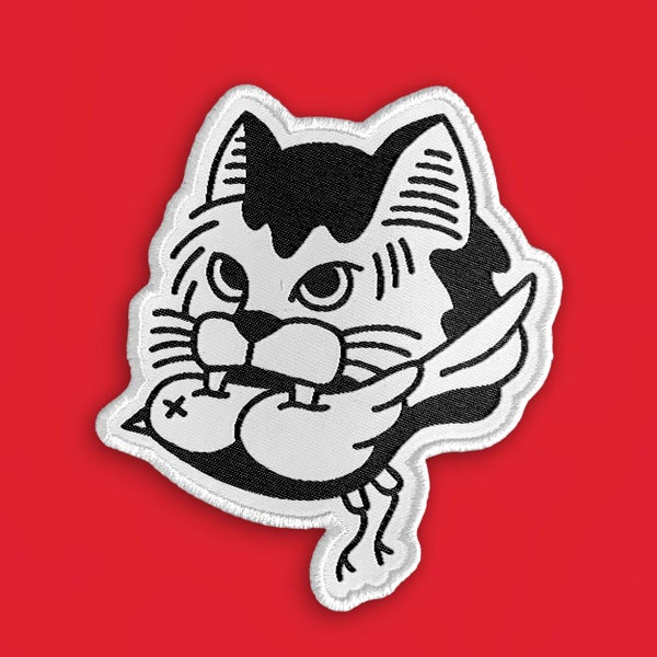 Image of 'Street Cat' Patch (Bird Variant)