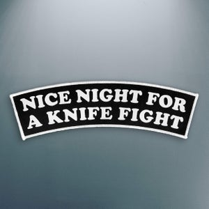 Image of 'Nice Night' Patch (Large)
