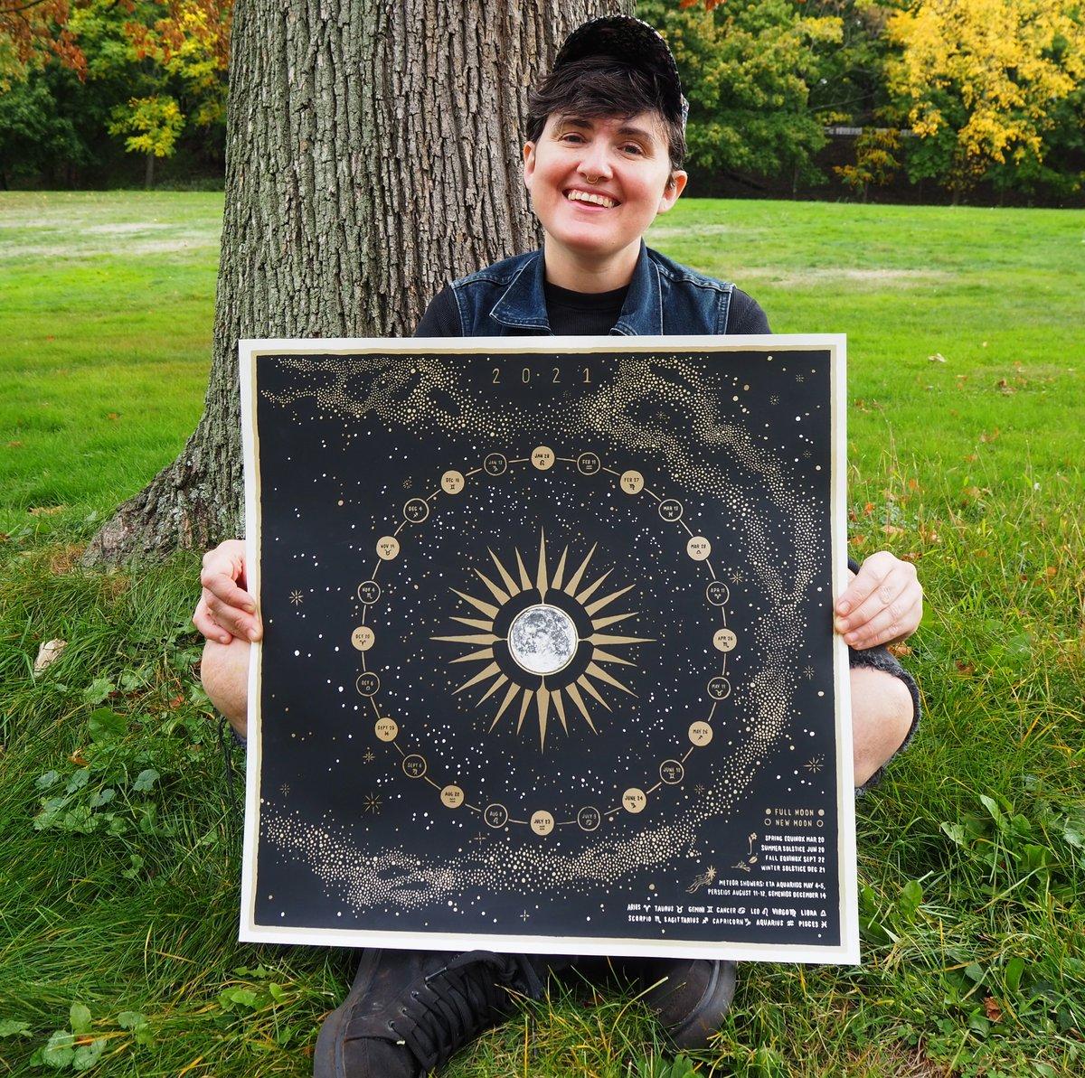 Image of 2021 Lunar Calendar MISPRINTS