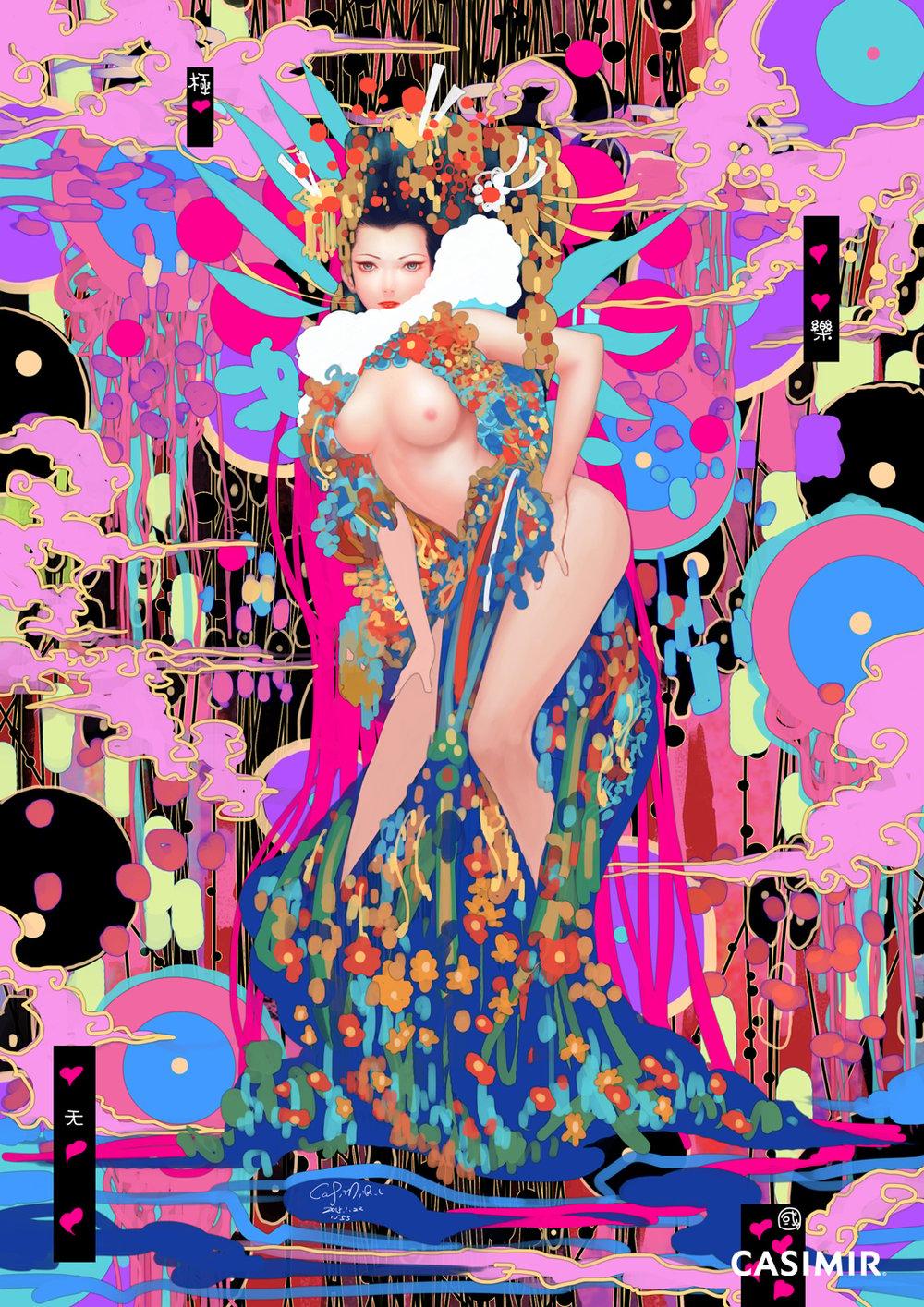 CASIMIR ART Limited Print - Elysium Heaven  / 極樂天國 限量版畫