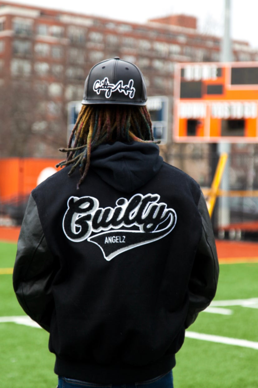 "Image of Guilty Angelz ""letterman jacket"""
