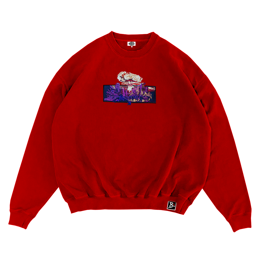 Image of Nuclear Red Sweatshirt