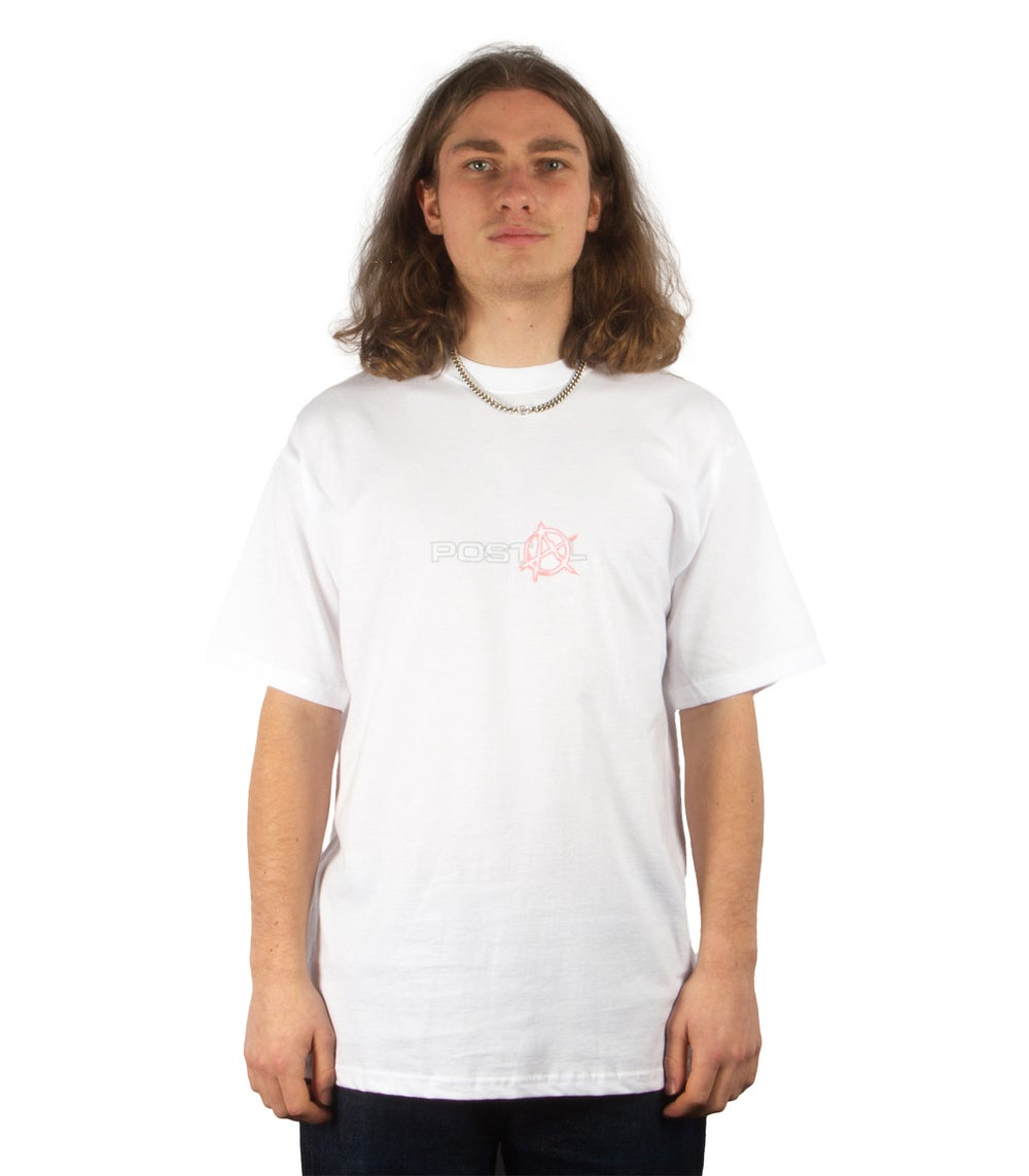 ANARCHY TEE IN WHITE