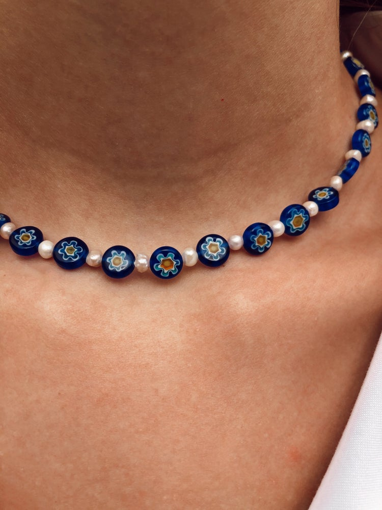 Image of Harry Inspired Millefiori Necklace